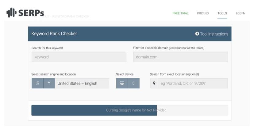 công cụ kiểm tra từ khóa miễn phí tuyệt vời