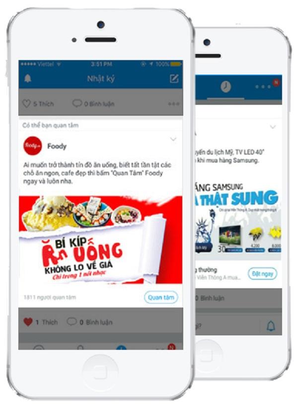 Quảng cáo Zalo OA sẽ thu hút người dùng biết đến tài khoản Zalo OA của doanh nghiệp
