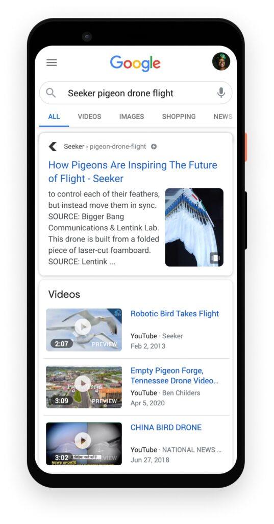 Web Stories trên Google tìm kiếm