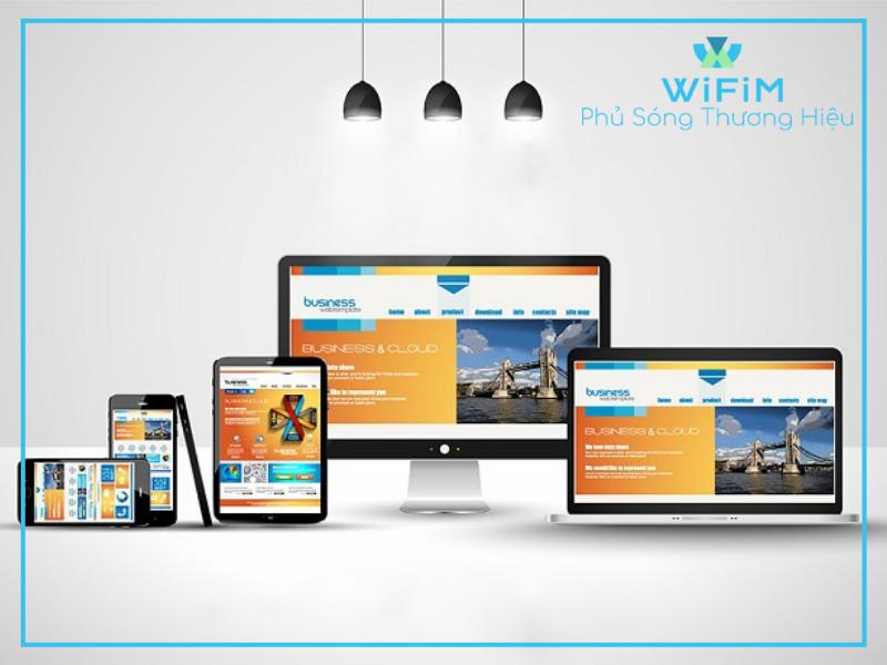 Dịch vụ thiết kế websie đẹp, bắt mắt