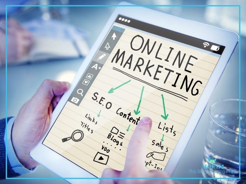 Khái niệm marketing online