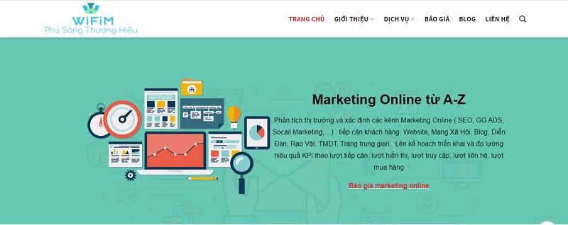 Thiết kế website thương mại điện tử tại wifim.vn