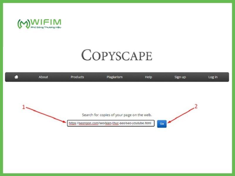 Công cụ check bài viết SEO Copyscape