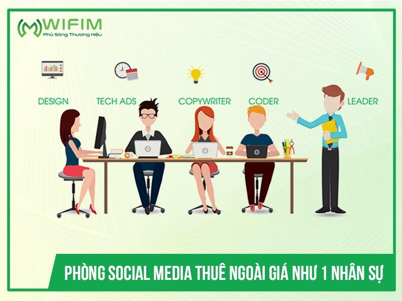 Phòng Social Media Thuê Ngoài giá như 1 nhân sự